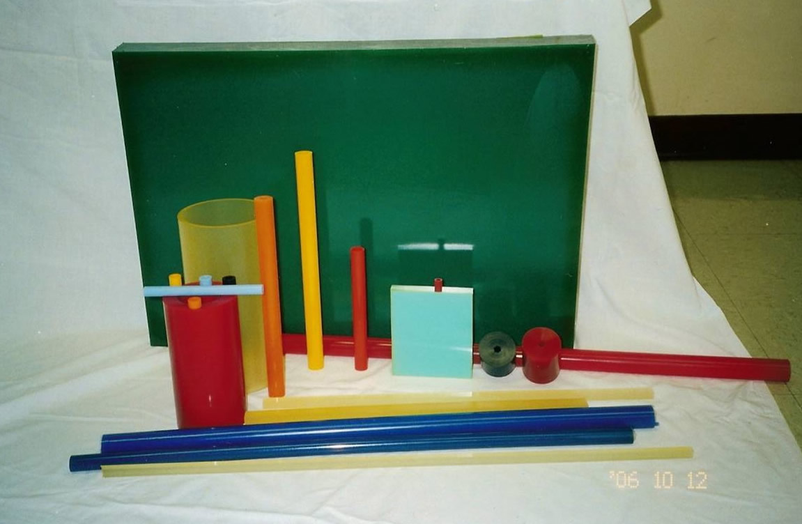 Showing sheets, tubes, rods, and bars.